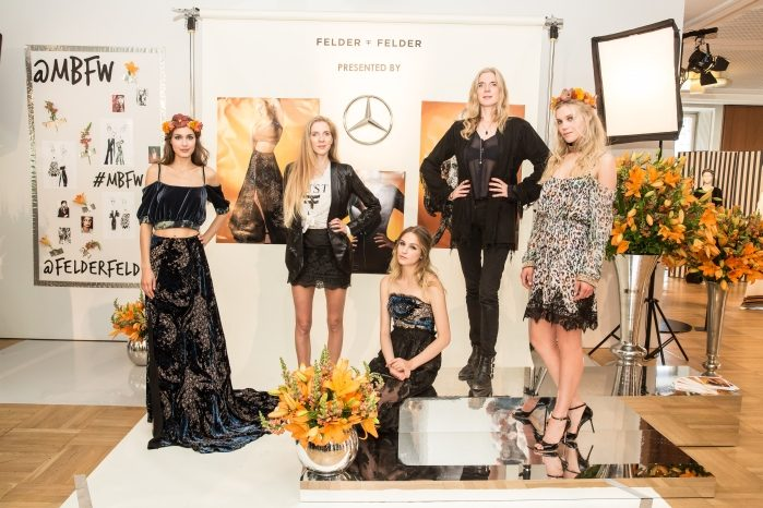 Felder Felder Mercedes-Benz Fashion Week Berlin SPRING/SUMMER 2017, Der Berliner Modesalon im Kronprinzenpalais in Berlin am 29.06.2016 Foto: Nass / Brauer Photos fuer Mercedes-Benz