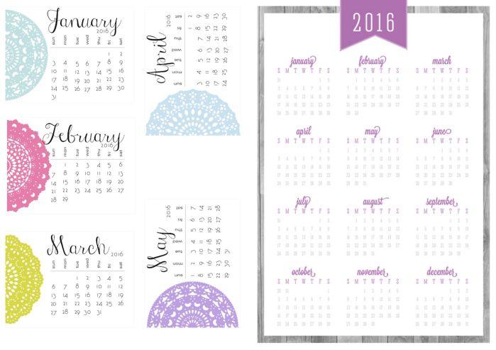 Free Printable Calendar 2016_3