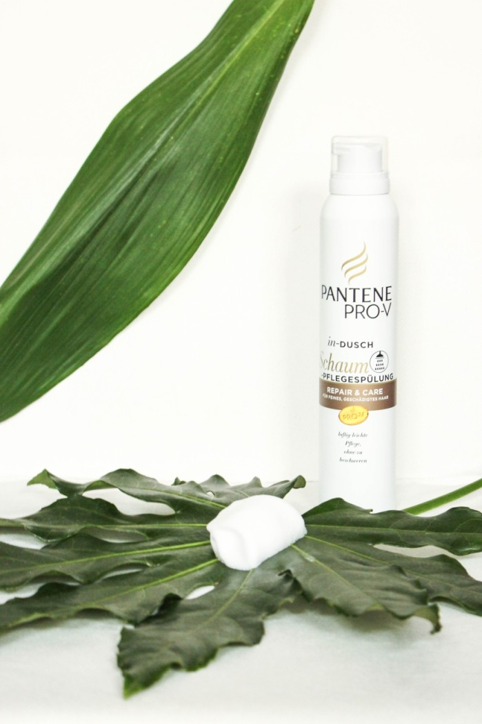 Pantene Indusch Schaum Spülung_Conditioner_Repair and Care_Review