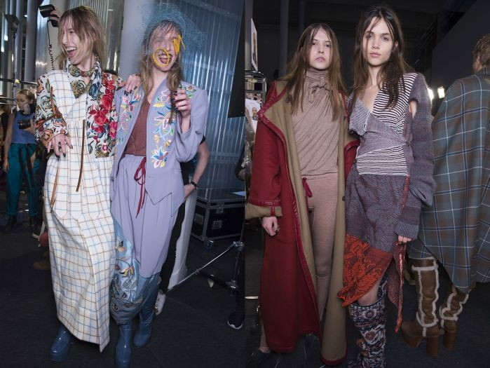 Vivienne Westwood Autumn Winter 2016_Backstage4