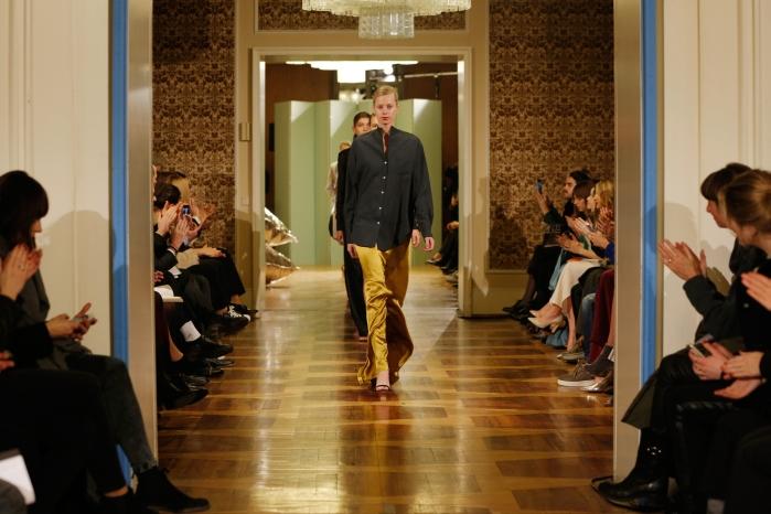 Perret Schaad Show - Mercedes-Benz Fashion Week Berlin Autumn/Winter 2015/16